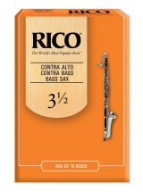 Rico Anches Clarinette Contrebasse Force 3.5 Pack De 10