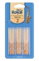Rico Anches Saxophone Ténor Royal Force 2.0 Pack De 3