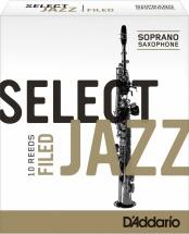 Rico Anches De Saxophone Soprano Rico Jazz Select Filed 4h Bois
