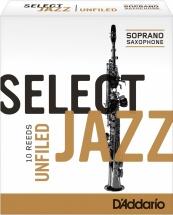 Rico De  Soprano  Jazz Select Unfield 4h Bois