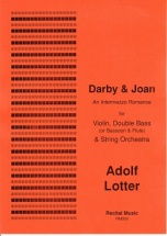 Lotter Adolf - Darby and Joan - Violon, Contrebasse and Orchestre A Cordes