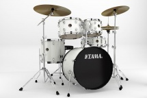 Tama Rm50yh6c-wh - Rhythm Mate Fusion 20 White + Cymbales