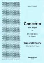 Dragonetti / Nanny - Concerto A Major (solo Tuning) - Contrebasse and Piano