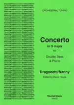 Dragonetti / Nanny - Concerto G Major (orchestral Tuning) - Contrebasse and Piano