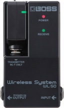Boss Wl-50 Wireless System Virtual Cable Pedalboard System 65ft Range