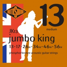 Rotosound Jumbo King Phosphore Bronze Medium 13 17 26 34 46 56