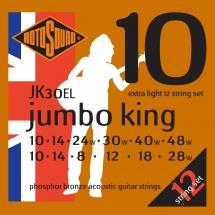 Rotosound Jumbo King Jk30el Phosphor Bronze 12 String 1028 - 1048