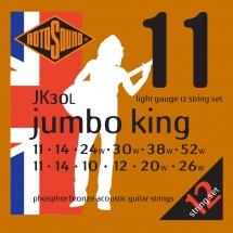Rotosound Jumbo King Jk30l Phosphor Bronze 12 String 126 -  1152
