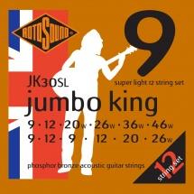 Rotosound Jumbo King Jk30sl Phosphor Bronze 12 String  926 -  946