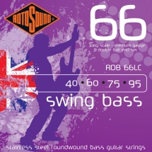 Rotosound Swing Bass Stainless Steel Double Boules 40-95