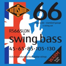 Rotosound Swing Bass Nickel 5 Cordes Standard 45 65 85 105 130