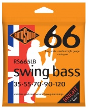 Rotosound Swing Bass Stainless Steel 5 Cordes Medium Light 35 55 70 90 120