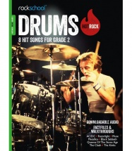 ROCKSCHOOL DRUMS HOT ROCK GRADE 2 (Book/Download Card)