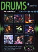 Rockschool Drums Hot Rock Grade 2 + 2 Cd