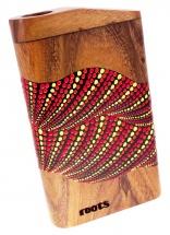 Roots Percussion Travel Didgeridoo Peint - Tonalite D