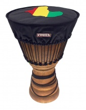 Roots Housse Deluxe Protection Peau Djembe ø 35-38 Cm Nylon - Couleur