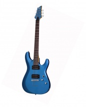 Schecter C-6 Deluxe Satin Metallic Light Blu