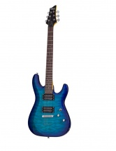 Schecter C-6 Plus Hh Ocean Burst Blue