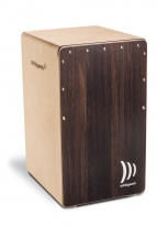 Schlagwerk S-cp408st - 2 In One Snare Cajon Dark Oak, Soft Touch