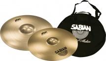 Sabian Xsr5006b1 - Pack Xsr Fast Crash 16 18 + Housse Cymbale Nouveaute