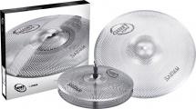 Sabian Qtpc501 - Pack Quiet Tone 13 - 18