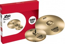Sabian Xsr5011b - Pack Cymbales Xsr First Pack 14 - 16