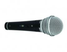 Samson R21s - Microphone Dynamique Cardioide - Interrupteur - Avec Pince + Cable Xlr-xlr Et Etui Rigide