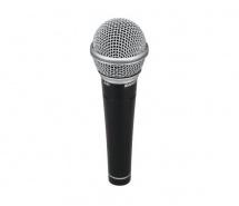 Samson R21s Consumer - Microphone Dynamique Cardioide - Interrupteur - Avec Pince Et Cable Xlr-jack