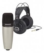 Samson Pack Microphone C01 Et Casque Sr850