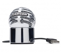 Samson Microphone Meteorite Chrome
