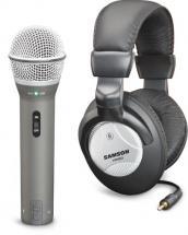 Samson Microphone Q2u Usb Avec Casque Hp20 - Support - Cable Usb