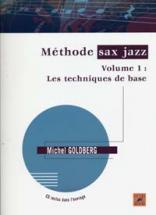 Goldberg M. - Méthode De Saxophone Jazz Vol.1 + Cd