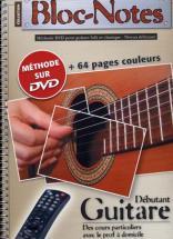 Bloc Notes Guitare Débutant + Dvd - Denis Roux/emmanuel Lexcellent