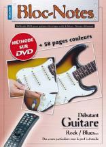 Bloc Notes Guitare électrique Débutant + Dvd - Denis Roux/emmanuel Lexcellent