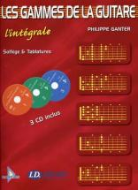 Ganter P. - Gammes Guitare L'integrale + 3cd