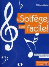 Ganter P.- Le Solfege C'est Facile + Cd - Nouvelle Edition