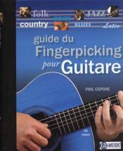Capone Phil - Guide Du Fingerpicking + Cd - Guitare