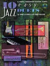 La Porta J And Nielsen G - 10 Easy Jazz Duets + Cd - Bb Instruments
