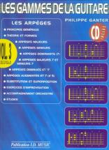Ganter Philippe - Les Gammes De La Guitare Vol.3 + Cd