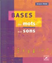 Siron Jacques - Bases Des Mots Aux Sons