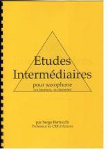 Bertocchi S. - Etudes Intermediaires - Saxophone