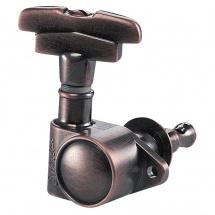 Schaller Mecaniques M6 Vintage S 3 Gauches/ 3 Droites Vintage Copper