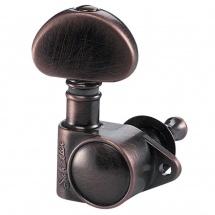 Schaller Mecaniques M6 Vintage 6 Gauches Vintage Copper