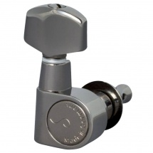 Schaller Mecaniques M6 Pointe De Fixation / Petit 6 Gauches Ruthenium