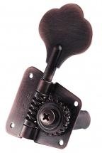 Schaller Mecaniques F-series Bmf 3 Gauches/ 2 Droites Vintage Copper