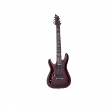 Schecter Hellraiser C-7, Black Cherry