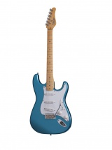 Schecter Traditional Standard Sss Lake Placid Blue