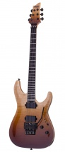 Schecter C-1 Fr Sls Elite - Antique Fade Burst