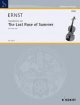 Ernst Heinrich Wilhelm - Variation On The Last Rose Of Summer - Violon and Piano