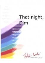 Schifrin L. - Naulais J. - That Night, Dim